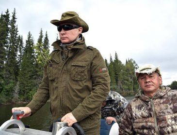 Не упадите! Чем занимается Путин в свой отпуск. Эксклюзивные фото!