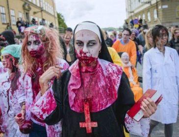 «Ужасные мертвецы»: в Швеции проходит марш зомби