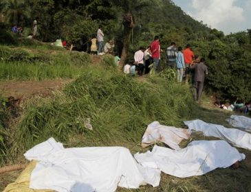Ужасная трагедия: При сходе оползня погибли 310 человек