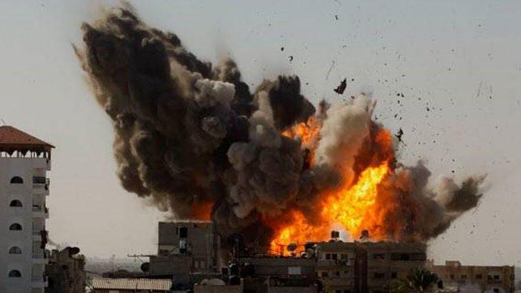 В центре столицы прогремел мощный взрыв