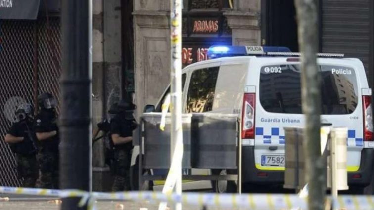 Исполнителя теракта в Барселоне ликвидировали (фото)