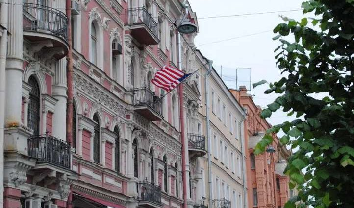 В РФ напали на американское генконсульство (фото)