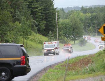 Наезд автобуса на толпу в Канаде: видео с места инцидента