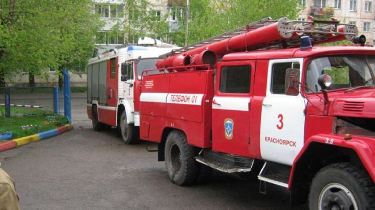 Масштабный пожар в России унес человеческие жизни