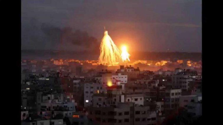 Коалиция США нанесла удар запрещенными бомбами по больнице!