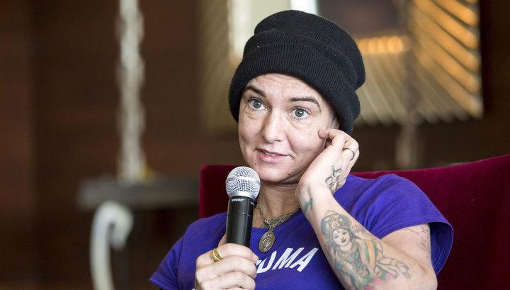 Певицу Шинейд О'Коннор спрятали в больнице