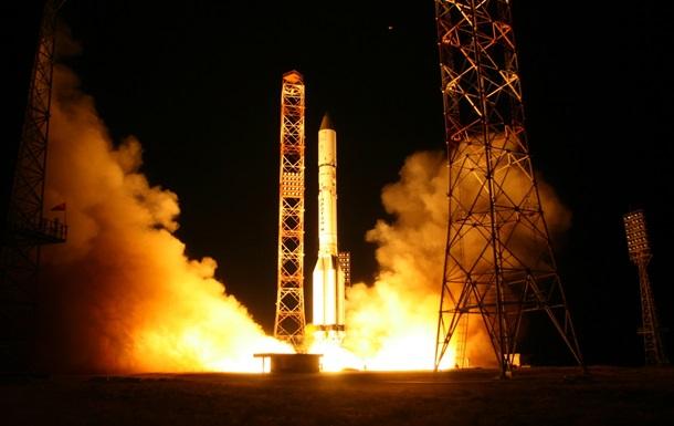 Россия успешно запустила в космос ракету Протон