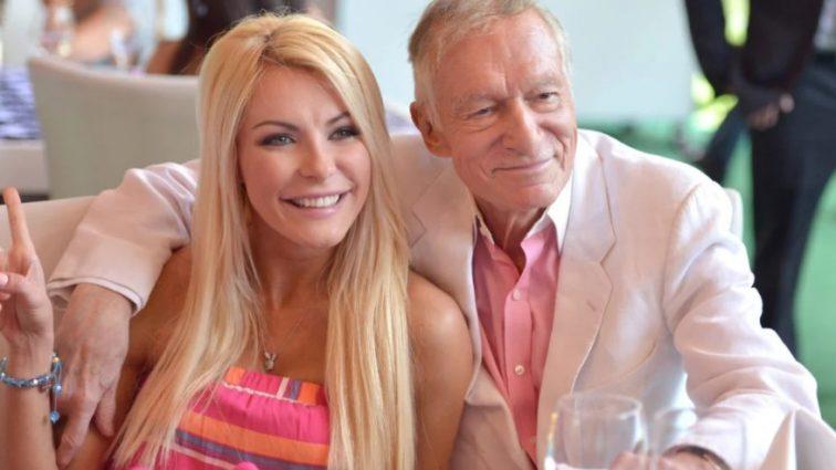 Плевать: шокирующая реакция жены Хью Хефнера на его смерть