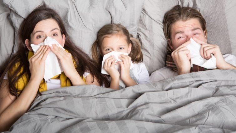 Как не заболеть простудой