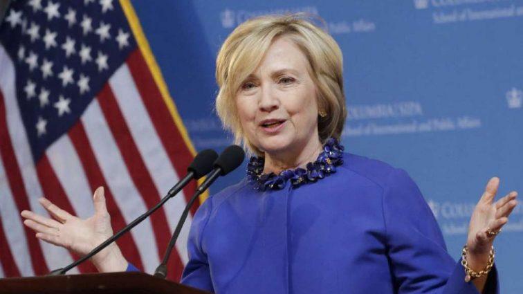Хиллари Клинтон упала с лестницы. Узнайте детали
