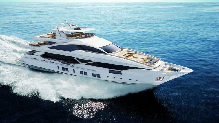 В Монако представлен концепт яхты с «умным» винным погребом