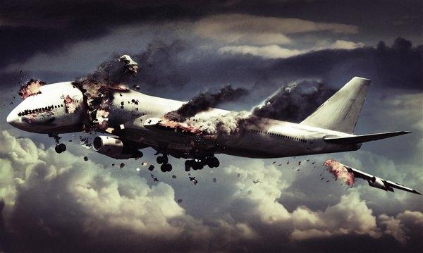 СРОЧНО! Разбился самолет: все сбежались к месту трагедии