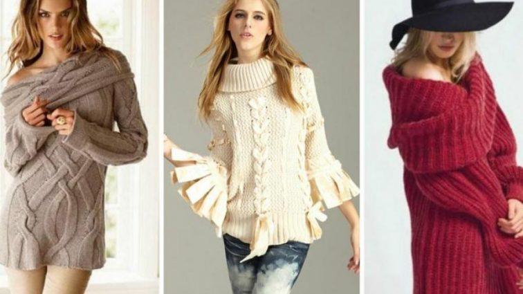 Тепло и красиво: как правильно подобрать вязаный свитер