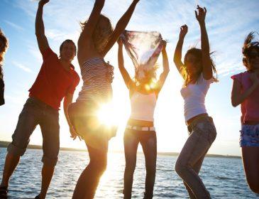 Как весело провести время с друзьями
