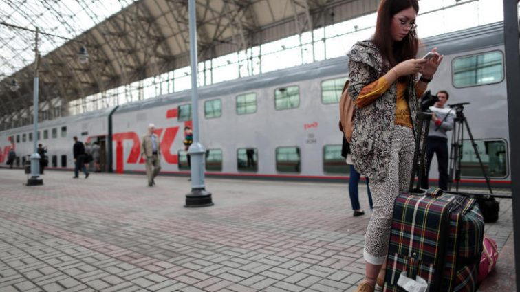 На вокзале в столице объявлена угроза взрыва
