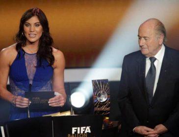 Известная футболистка обвинила экс-президента ФИФА в домогательстве