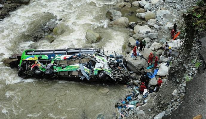 Трагическая весть! Автобус упал в реку: десятки людей погибли и пострадали
