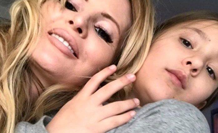 Дане Борисовой позволили провести время с дочерью