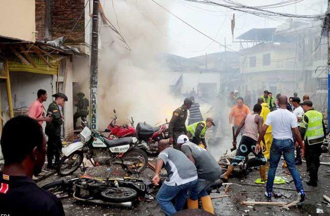 В результате теракта погибли пять офицеров: задержан подозреваемый