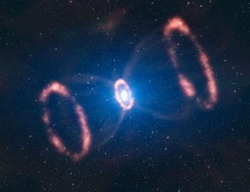 Учёные обнаружили наскальный рисунок с изображением звёздного взрыва
