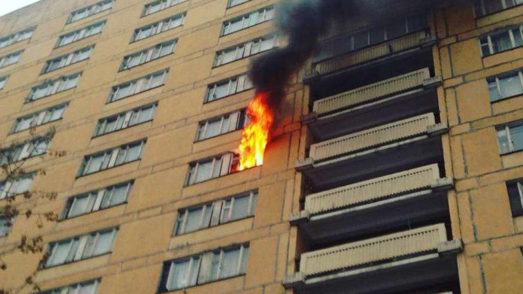 Страшный пожар в общежитии: есть погибшие, в том числе дети