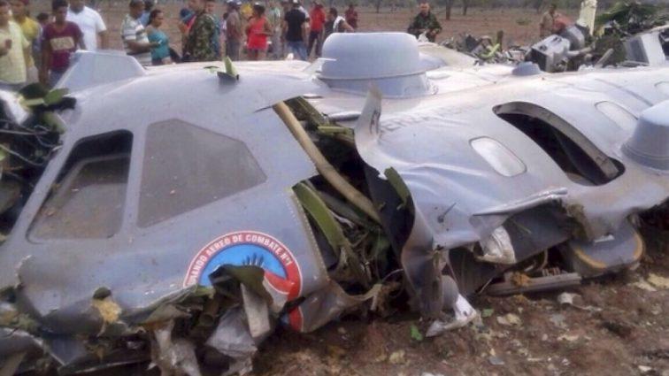 Авария военного вертолет: погибли 10 человек