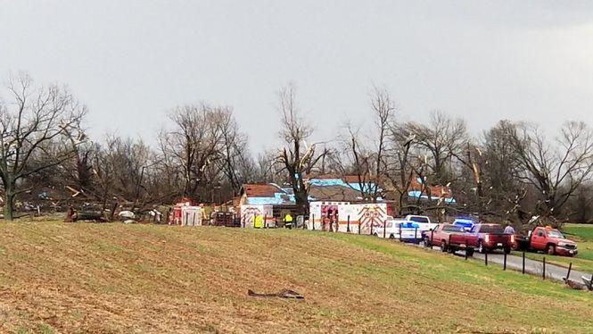 Мощный шторм: есть жертвы, разрушены дома