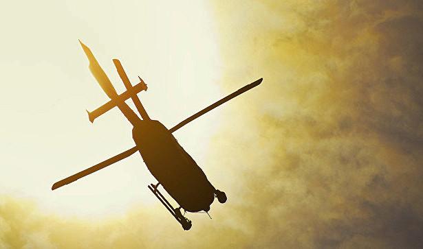 Крушение вертолета: погибли два человека, есть пострадавшие