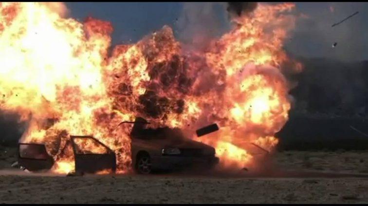Взрыв автомобиля в столице: есть жертвы