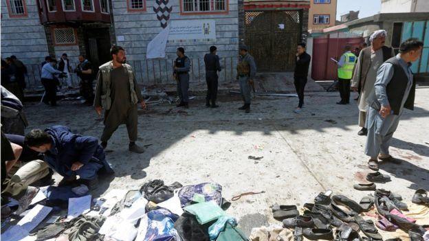 Теракт в Кабуле: Много пострадавших!
