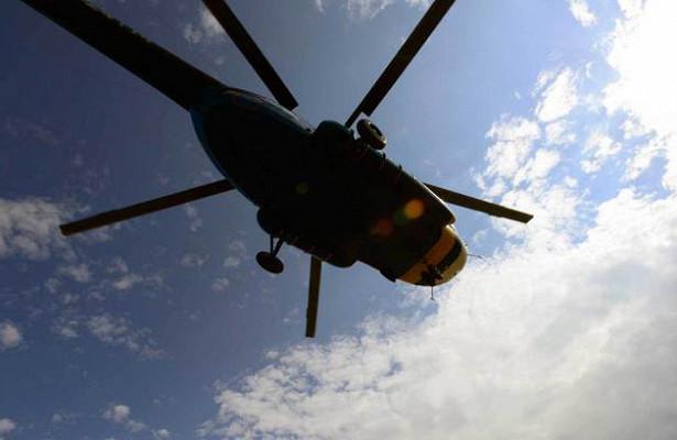 Вертолет упал в море: есть погибшие