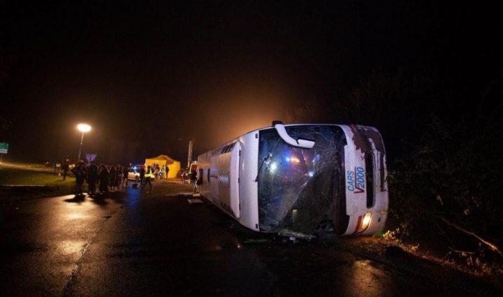 «Находилось 38 человек»: ДТП со школьным автобусом