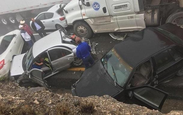 «Предварительная причина — плохая видимость»: детали аварии, в которой столкнулись 5 машин