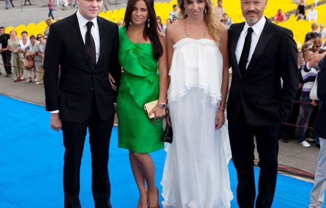 Невестка Федора Бондарчука Тата Мамиашвили впервые выложила фото своей дочери