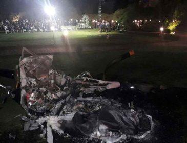 Рядом с местом, где ожидали гости: Разбился вертолет с невестой