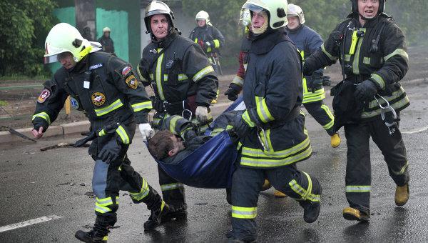 Пожар в Питере: Известна судьба сотен человек, оказавшихся в горящем здании