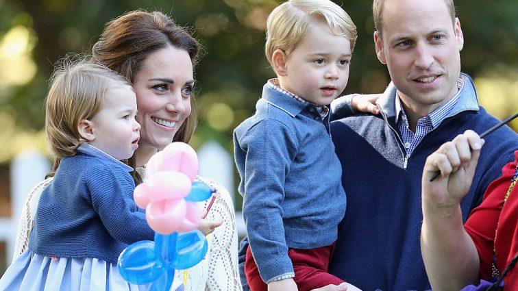 Объявлены обязанности принца Джорджа и принцессы Шарлотты на свадьбе  принца Гарри и Меган Маркл