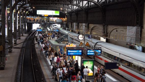 Трагический инцидент на вокзале в Германии: есть раненые и погибший