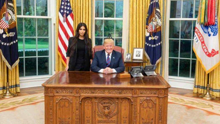 Дональд Трамп и Ким Кардашьян в Белом доме: о чем говорили