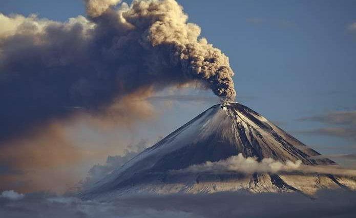 Ужасное извержение вулкана на Гавайях