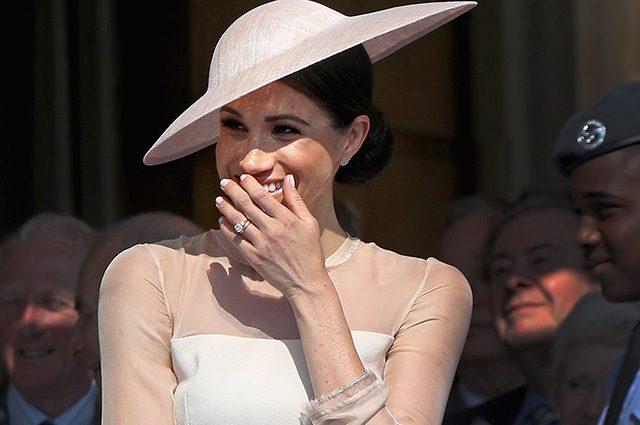 Меган Маркл получила собственный герб через несколько дней после свадьбы