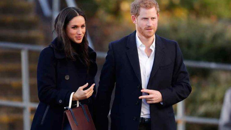«Королевская семья в сборе»: появились фото с репетиции свадьбы Меган Маркл и принца Гарри