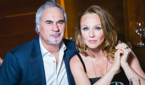 Эффектный выход знаменитой пары Альбины Джанабаевой и Валерия Меладзе на вручении премии (фото)