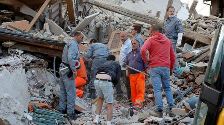 Страна содрогнулась от землетрясения