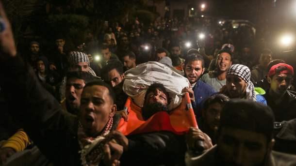 Стычки на границе Израиля: два человека погибли и 415 были ранены