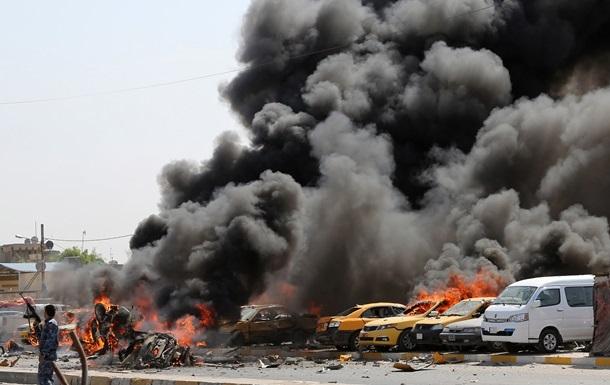 В Багдаде был мощнейший взрыв, 18 жертв