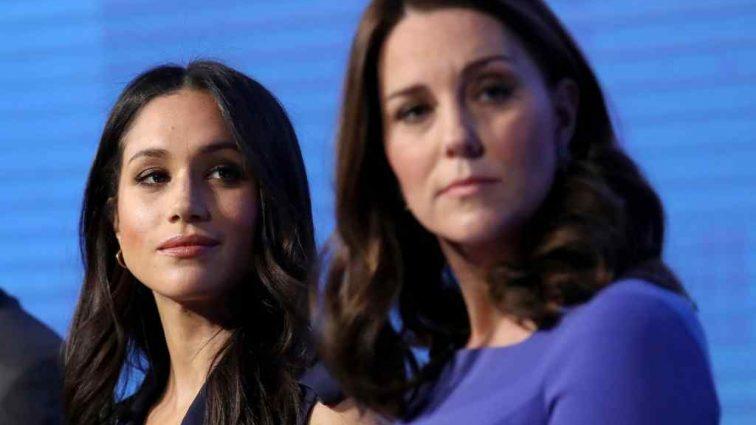 Меган Маркл подставляет Кейт Миддлтон при королевском дворе
