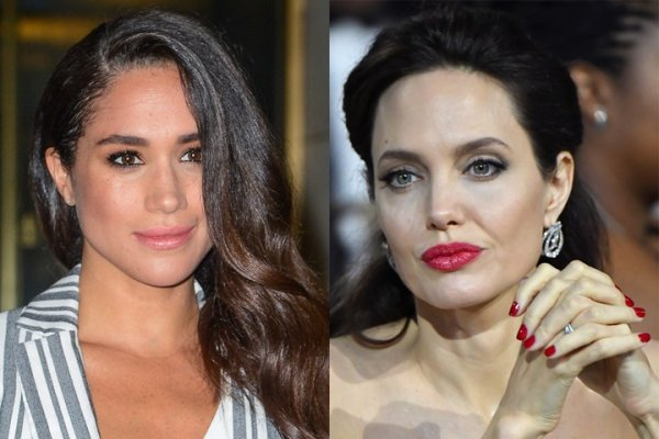 Почему Анджелина Джоли обижена на Меган Маркл?