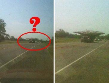 «Смотри, НЛО везут»: странное видео взбудоражило Сеть