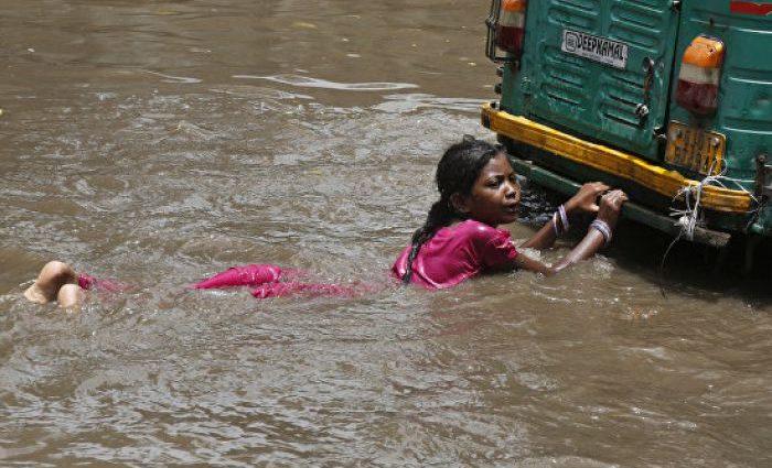 Наводнение в Индии: пострадало около 450 тысяч человек